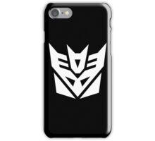 Decept (Simple White Theme) iPhone Case/Skin