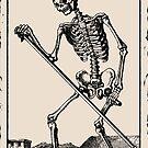 Der Tod / Death Tarot Card by Bela-Manson