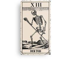 Der Tod / Death Tarot Card Metal Print