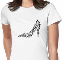 Stiletto with different shoe silhouettes Womens Fitted T-Shirt