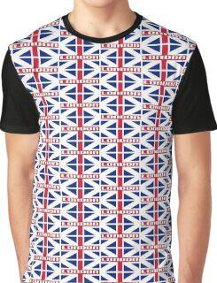 KING'S COLOURS-LONDON Graphic T-Shirt