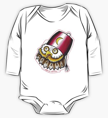 OWL IN A FEZ One Piece - Long Sleeve
