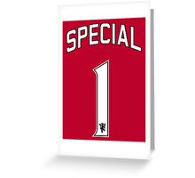 Special 1 Greeting Card