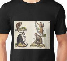 Naturgeschichte in Bildern mit erläuterndem Text E Strack 1820 Lief 1 Mammals 041 Unisex T-Shirt