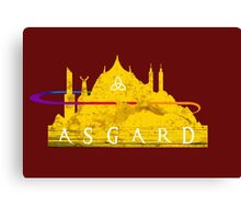 Asgard (The Cities of Comics) Canvas Print