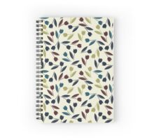 Decorative spring tulips Spiral Notebook