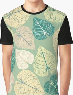 Pattern with stylish leaves Graphic T-Shirt