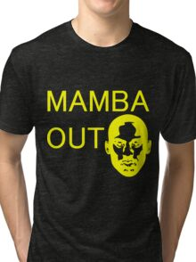 Kobe Mamba Out Tri-blend T-Shirt