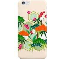 Japanese Kimono Floral Pink iPhone Case/Skin
