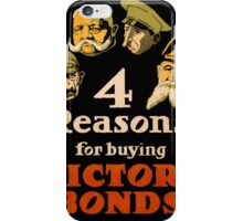Vintage poster - Victory Bonds iPhone Case/Skin