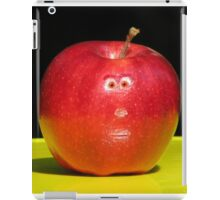 RED APPLE FACE iPad Case/Skin