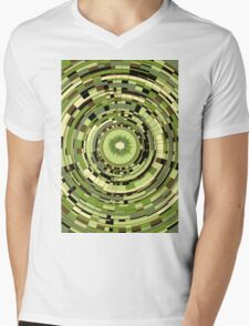 Kiwi sol Mens V-Neck T-Shirt