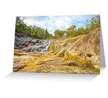 Silky Falls... Greeting Card
