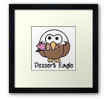 Dessert Eagle Framed Print