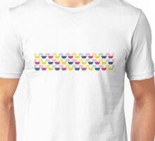 Pink, Blue & Yellow Trapezoids  Unisex T-Shirt