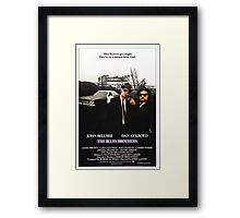 The Blues Brother Movie Poster Framed Print