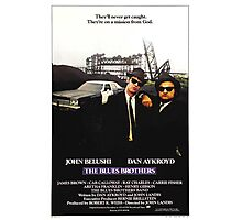 The Blues Brother Movie Poster Photographic Print