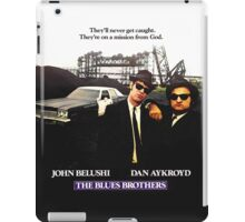 The Blues Brother Movie Poster iPad Case/Skin