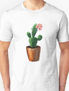 Cacti Water Colour Unisex T-Shirt