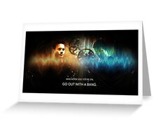 Go Out With a Bang - Lincoln and Ward Greeting Card