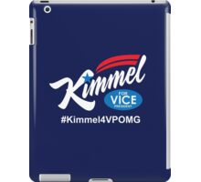 jimmy kimmel for vice president iPad Case/Skin