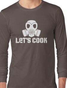 Let's Cook (White Theme) Long Sleeve T-Shirt