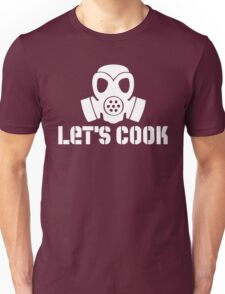 Let's Cook (White Theme) Unisex T-Shirt