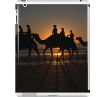 Red Sun Camels iPad Case/Skin