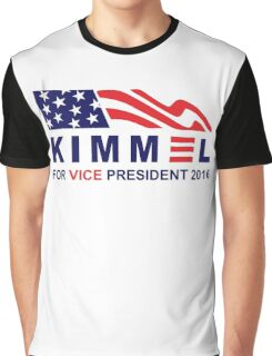 vote jimmy kimmel for vice president Graphic T-Shirt