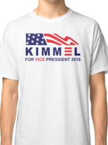vote jimmy kimmel for vice president Classic T-Shirt