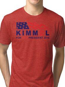 vote jimmy kimmel for vice president Tri-blend T-Shirt