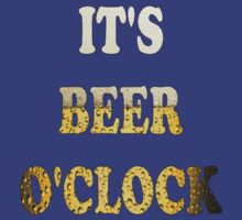 It's beer o'clock by YellowLion
