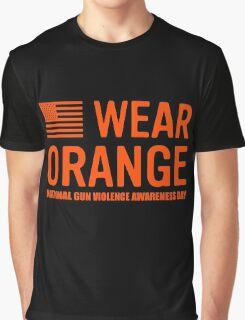 wear orange Graphic T-Shirt