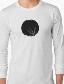Haworthia Aloe Vera cactus succulent plant white spots Long Sleeve T-Shirt