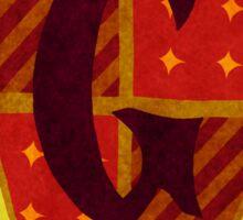Gryffindor House Crest 2 Sticker