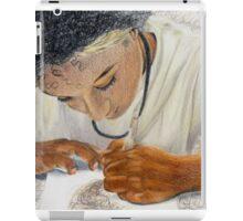 Portrait of an Artist iPad Case/Skin