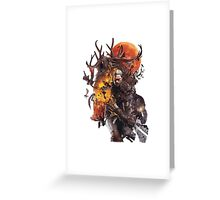 The Witcher 3 Wild Hunt Greeting Card