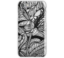 for the trees b&w iPhone Case/Skin