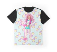 I am a Pink Hologram Graphic T-Shirt