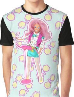 I am a Pink Hologram Graphic T-Shirt