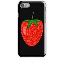 Strawberry Art iPhone Case/Skin