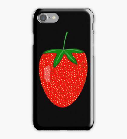 Strawberry Art iPhone Case/Skin