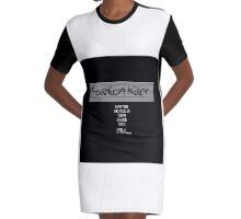 Fashion Killer Graphic T-Shirt Dress