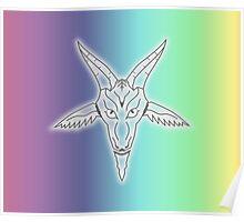 Rainbow Satan Poster