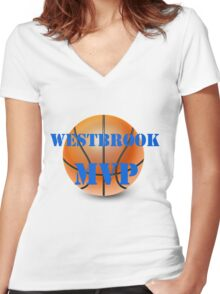 Westbrook MVP Women's Fitted V-Neck T-Shirt