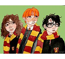 Magical Students from Hogwarts Photographic Print