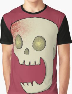 Spooky Skeleton Graphic T-Shirt