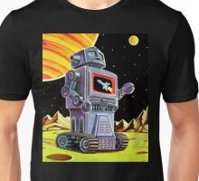 PURPLE ROBOT Unisex T-Shirt