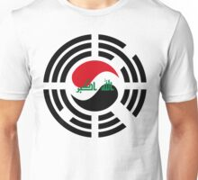 Korean Iraqi Multinational Patriot Flag Series Unisex T-Shirt