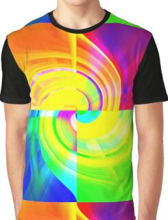 Fabulous Four Colours Graphic T-Shirt